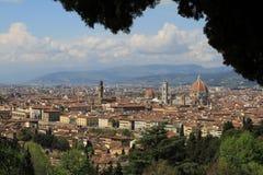 florence Włoch widok Obraz Stock