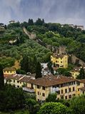 Florence Wall, Italie Images stock