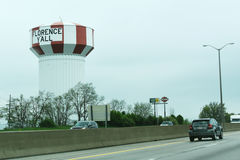 Florence Water Tower in Kentucky Royalty Free Stock Photo