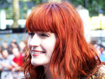 Florence Welch At Scott Pilgrim Vs The World Stock Photo
