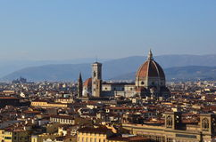 Florence. Wide view of the city of Florence, Italy Stock Photography