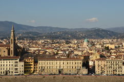Florence. Wide view of the city of Florence, Italy Stock Images