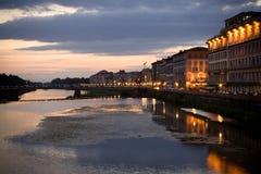 florence zmierzch Italy Zdjęcia Royalty Free