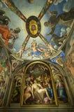 FlorencePalazzo Vecchio ceiling Royalty Free Stock Photos