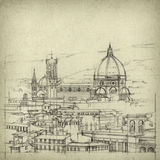 Florencia stock de ilustración