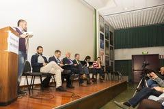 FLORENCIA - Candidatos al papel del alcalde Imágenes de archivo libres de regalías