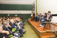 FLORENCIA - Candidatos al papel del alcalde Foto de archivo libre de regalías