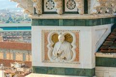 Florencia Decoración del elemento de la catedral Imagen de archivo