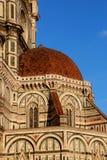 Florencia, detalle de la catedral Sant Maria de Fiower Foto de archivo