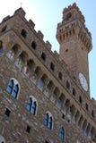 Florencia, el palacio de Signoria Imagenes de archivo