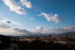 Florencia en Italia foto de archivo