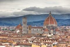 Florencia en resorte Imagenes de archivo