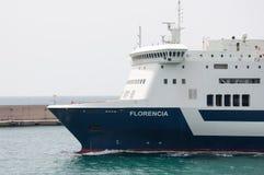 Florencia Ferry royalty-vrije stock afbeelding