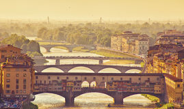 Florencia hermosa Fotografía de archivo libre de regalías