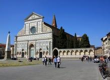 Florencia, iglesia de la novela corta de Santa María imágenes de archivo libres de regalías