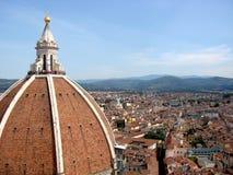 Florencia la bóveda Imagenes de archivo