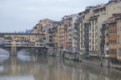 Florencia mojada Imagen de archivo