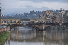 Florencia mojada Fotos de archivo