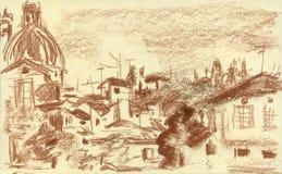Florencia, Oltrarno, Italia libre illustration