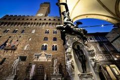 Florencia Palazzo Vecchio Fotografía de archivo libre de regalías