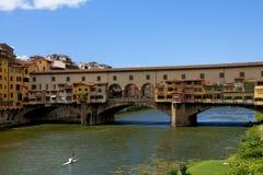 Florencia, Ponte Vecchio imagenes de archivo