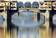Florencia - Ponte Vecchio Imagenes de archivo