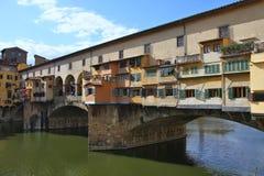 Florencia - Ponte Vecchio Fotografía de archivo