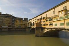 Florencia, Ponte Vecchio Fotografía de archivo