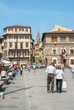 Florencia que visita Foto de archivo libre de regalías