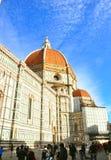 Florencia que visita, Italia Imagen de archivo libre de regalías