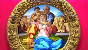 Florencia - Tondo Doni Vídeo ilustrativo de una obra maestra de Michelangelo Buonarrotti