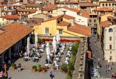 Florencia Visión superior Imágenes de archivo libres de regalías