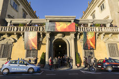 Florencja antyków sztuki Międzynarodowy co dwa lata jarmark - Biennale dell'Antiquariato Firenze Zdjęcie Royalty Free