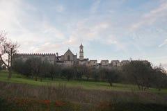 Florencja Charterhouse kościół Certosa Di Galluzzo di Firenze Włochy Obraz Royalty Free