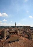 Florencja dachu linia horyzontu Obrazy Stock