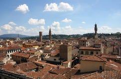 Florencja dachu linia horyzontu (krajobraz) Obraz Stock