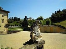 Florencja Giardino Di Boboli Obrazy Royalty Free