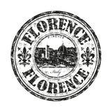 Florencja grunge pieczątka Obraz Stock