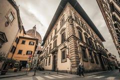 Florencja historyczny centrum Włochy Citylife Zdjęcia Royalty Free