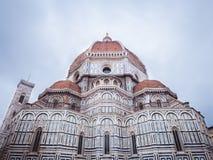 Florencja katedra i Giotto dzwonkowy wierza Obraz Royalty Free