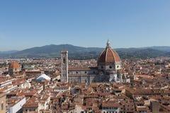 Florencja katedra w słonecznym dniu, Tuscany, Włochy Zdjęcia Royalty Free