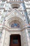 Florencja katedry bramy Zdjęcia Royalty Free