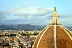 Florencja katedry kopuła Obrazy Stock