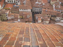 Florencja, kopuła katedra Fotografia Royalty Free