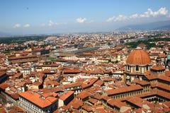 Florencja od wysokości obrazy royalty free