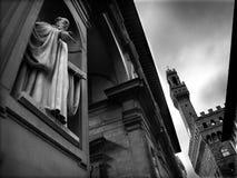 Florencja: palazzo i w?ochy Toskanii obraz stock