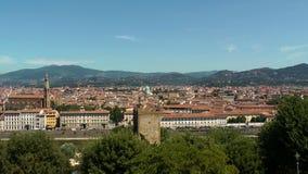 Florencja panorama zbiory wideo