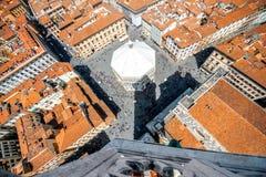 Florencja pejzażu miejskiego widok Obrazy Stock