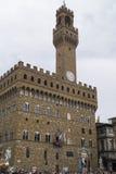 Florencja - piazza dei Signori Obrazy Stock