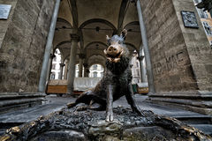 Florencja Porcellino zdjęcia stock